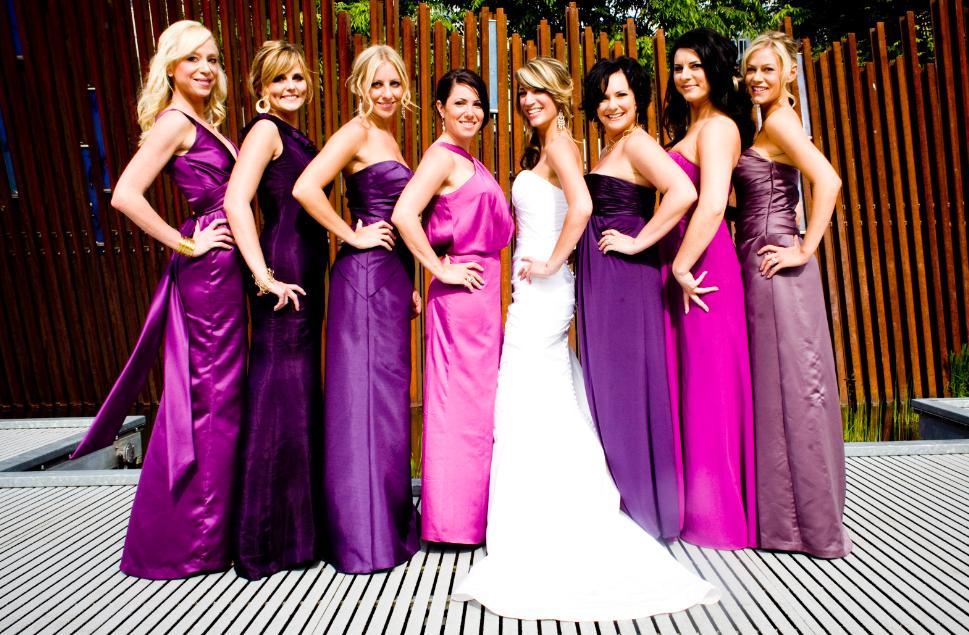 Идеи фиолетовой свадьбы