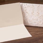 Свадебные приглашения белые вкладыш